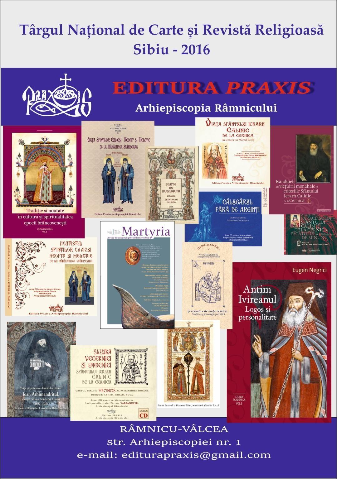 editura praxis prezentă la târgul național de carte și revistă