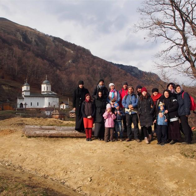 Drumeție la Mănăstirea Pătrunsa