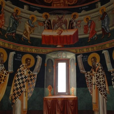 Frescă, Paraclisul Mănăstirii Arnota