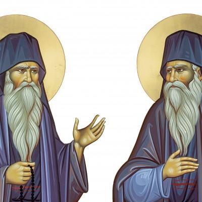 Sfinţii Cuvioşi  Daniil şi Misail de la Mănăstirea Turnu