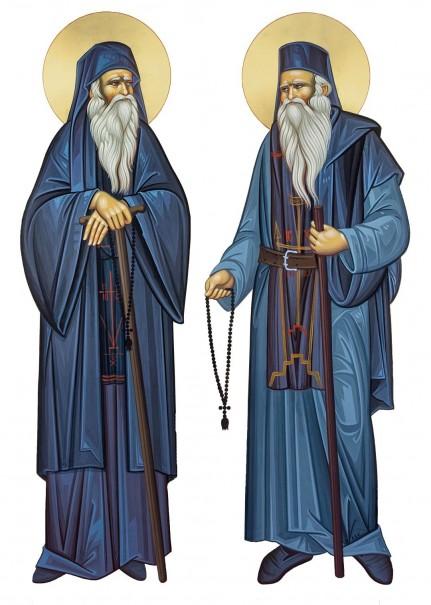 Sfinții Cuvioşi Neofit şi Meletie, de la Mănăstirea Stânişoara