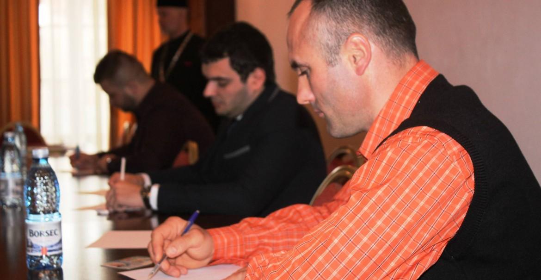 Examen pentru cântăreţii bisericeşti