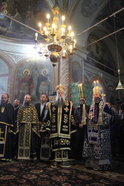 Hramul Sfintei Mănăstiri Frăsinei