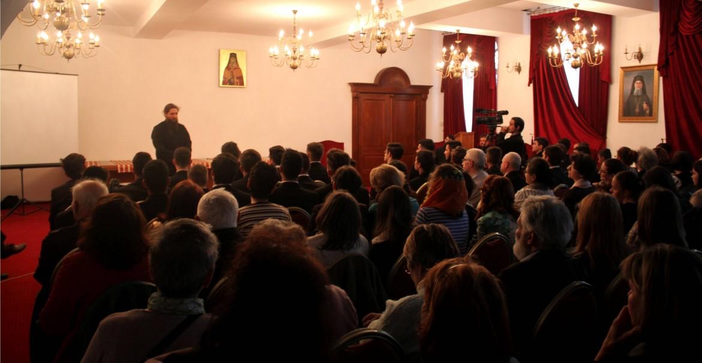 Conferință la Râmnic - Părintele Pantelimon de la Oașa