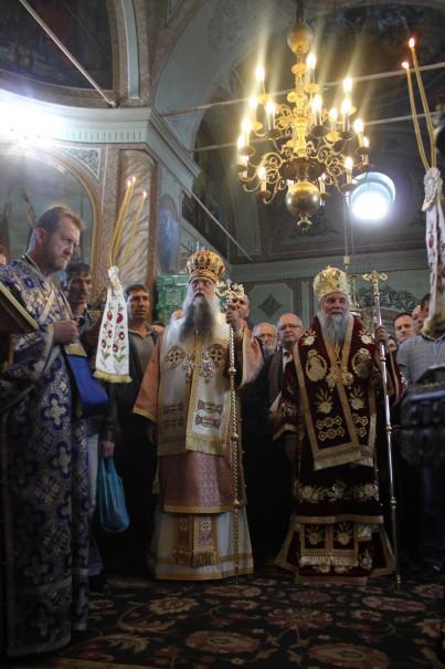 ÎPS Arhiepiscop Varsanufie și ÎPS Mitropolit Irineu