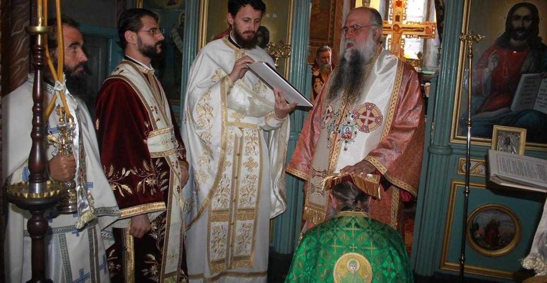 Numirea noului stareț: Arhimandritul Ioanichie