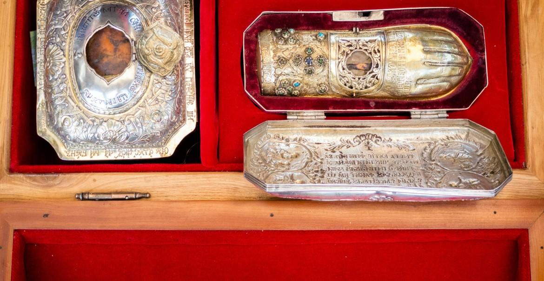 Moaştele Sfântului Ierarh Nifon