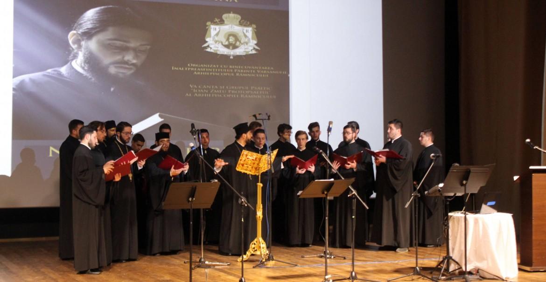 Concert de muzică bizantină la Râmnic