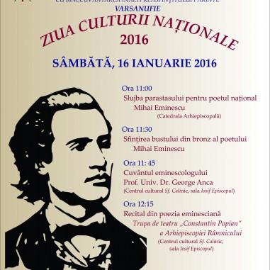 Ziua Culturii Naționale 2016
