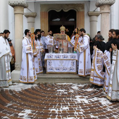 Boboteaza la Catedrala Arhiepiscopală