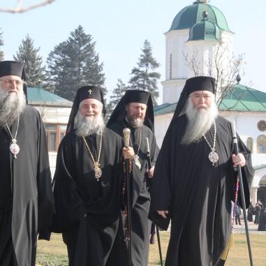ÎPS Varsanufie, ÎPS Irineu, PS Emilian Lovișteanul și PS Nicodim