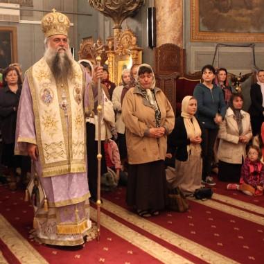 Duminica Floriilor la Catedrala Arhiepiscopală