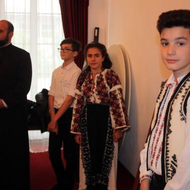 Premierea elevilor vâlceni, la Centrul Eparhial