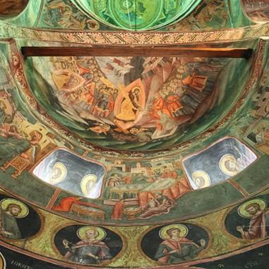 Pogorârea la Iad - frescă, Mănăstirea Govora