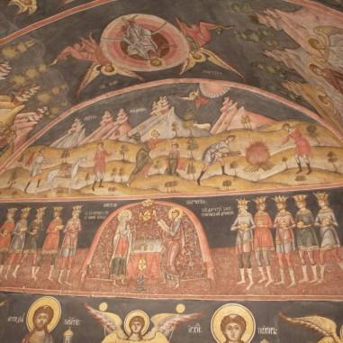 Frescă, Biserica Toți Sfinții, Proieni