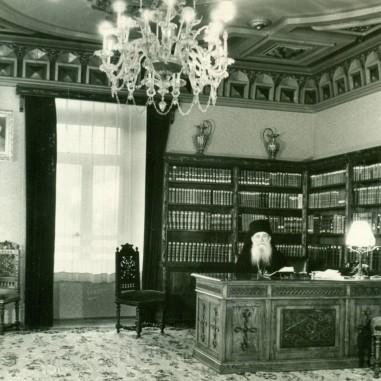 Episcopul Iosif la biroul de lucru, 1963