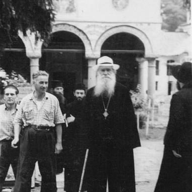 Episcopul Iosif la Cozia